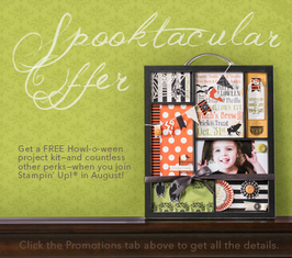 Halloween in August Stampin Up Business