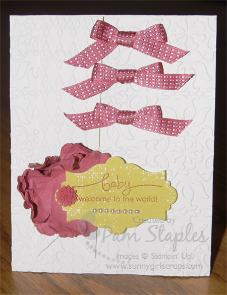 Everything Eleanor Baby Girl card