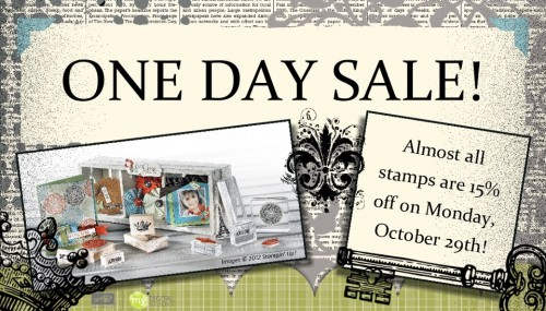 1 Day Stamp Sale