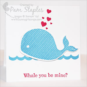 Stampin Up Oh, Whale Stamp Set