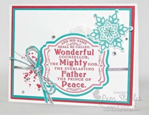 Festive Flurry Stamp Set