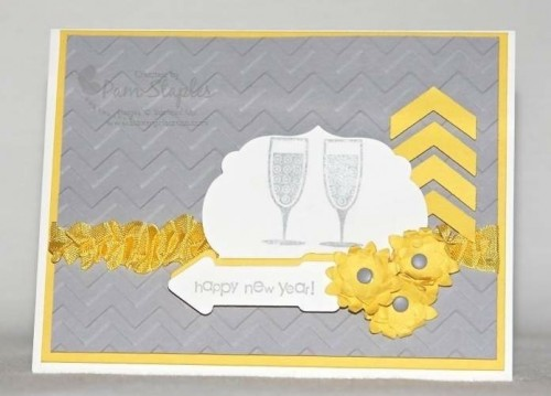 Paper Craft Crew Card Sketch 74