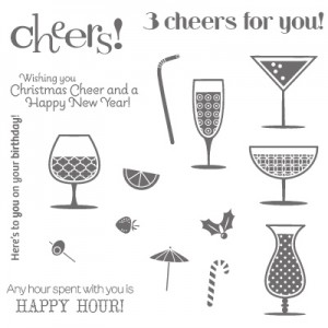 Stampin Up Happy Hour Stamp Set