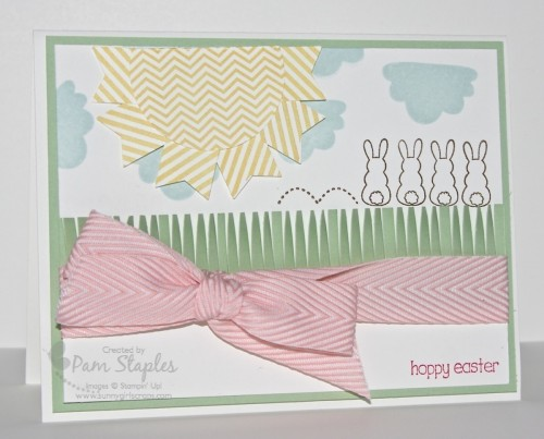 Whimsical Eggstra Spectacular Handmade Card