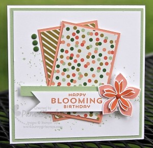 Paper Craft Crew Card Sketch 106 by Pam Staples #papercraftcrew #stampinup #pamstaples #sunnygirlscraps