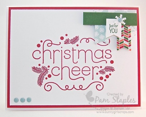 Paper Craft Crew Card Sketch 120 #sunnygirlscraps #stampinup