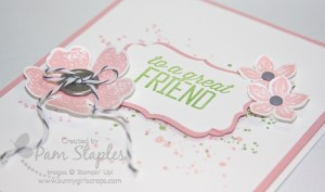 Simply Wonderful Handmade Friend Card