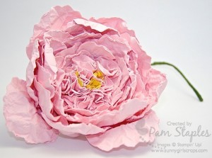 Paper Crafted Peony