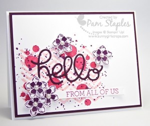 Handmade card by Pam Staples, Sunny Girl Scraps, submitted to the Create with Connie and Mary Color Challenge CCMC344. #stampinup #pamstaples #ccmc