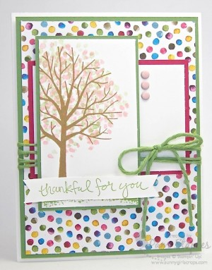 Handmade card by Pam Staples, Stampin' Up! Independent Demonstrator and SunnyGirlScraps created for the Paper Craft Crew Card Sketch 137.  #stampinup #papercraftcrew #pamstaples #shelteringtree