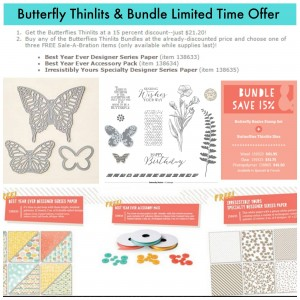 Butterfly Thinlits