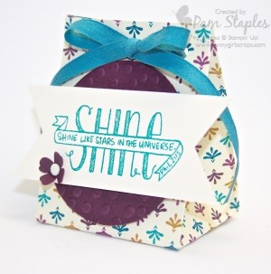 Handmade Sweet Treat Box created by Pam Staples, SunnyGirlScraps, for the SUO Challenges as a design team member.
