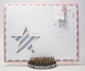 You're So Sweet Baby Card created for the Stars & Stripes SUO Challenges by design team member, Pam Staples. #stampinup #pamstaples #sunnygirlscraps