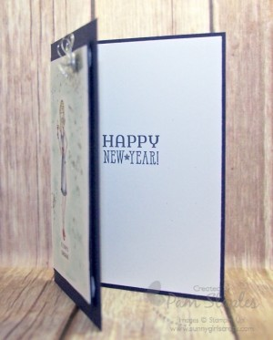 In This Together New Year Celebration card by Pam Staples #stampinup #pamstaples #suoc