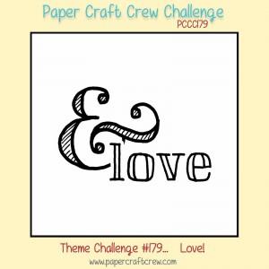 Paper Craft Crew Love Theme Challenge 179. #papercraftcrew #themechallenge