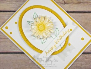 Grateful Bunch Happy Birthday Card created by Pam Staples for the Can You Case It? Challenge 112. #pamstaples #sunnygirlscraps #stampinup #canyoucaseit