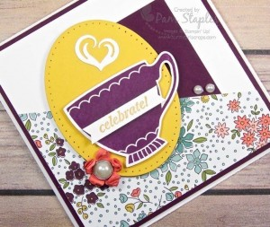 Paper Craft Crew Challenge 187 featuring A Nice Cuppa Stamp Set. Created by Pam Staples #pamstaples #anicecuppa #stampinup