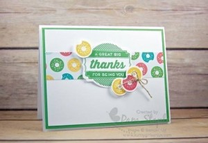 Paper Craft Crew Design Team Challenge Card 193 created by Pam Staples featuring Oh My Goodies. #ohmygoodies #stampinup #pamstaples