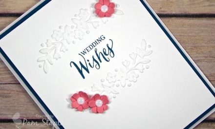CARD: Floral Affection Wedding Card and SUOC 149