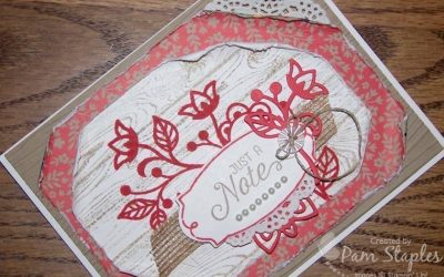 PROJECTS: Flourishing Phrases Shabby Chic