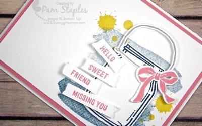 CARD:  Jar of Love Sweet Friend Card