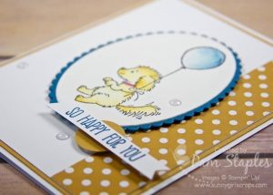 Design Team submission for SUOC 155 featuring the cute and cuddly Bella and Friends Stamp Set. Handmade card created by Pam Staples. #suoc155 #sunnygirlscraps #stampinup #bellaandfriends Visit my blog at www.sunnygirlscraps.com for more information.