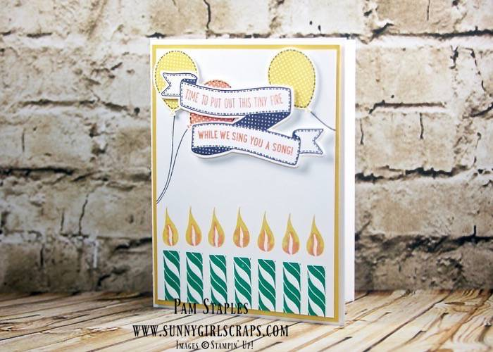 7 Year Old A Special Banner Birthday Card For Boy Created By Pam Staples The Paper Craft