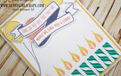 PCC212: A Banner Happy Birthday Card for a Boy