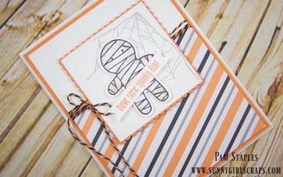 CARD: RemARKable Creative Blog Tour Happy Halloween Mummy Card