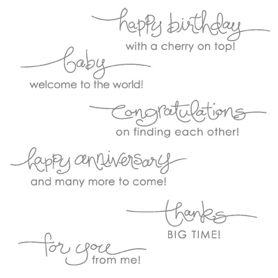 A Word For You Stamp Set