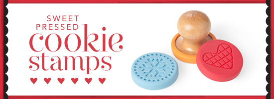 Sweet Pressed Cookie Stamps