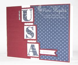 Morning Post Alphabet Stamp Set