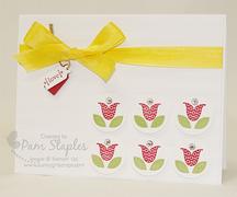 Bright Blossoms Stamp Set