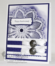 Stampin' Up! Hello Doily