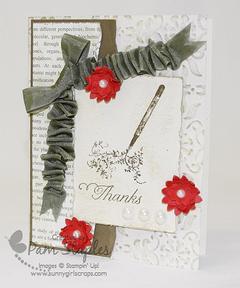 Stampin' Up! Rue Des Fleurs Stamp Set